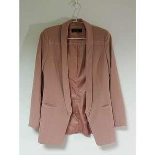 好難遇西裝外套 裸粉色 M號