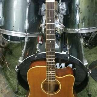 Tanglewood acoustic cutaway uk