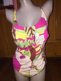 Printed 1pc swimwear bathing suit xl plus size