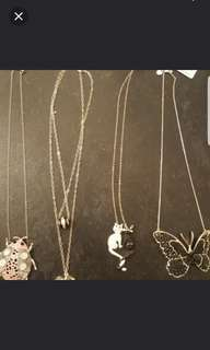 Mimco sterling silver chains