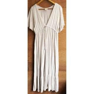 日牌🇯🇵Gelato Pique棉質印花V字長洋裝