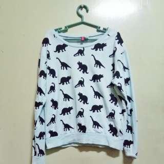 H&M Dinosaur Sweater