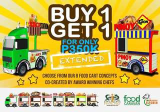 Buy 1 Get 1 foodcart