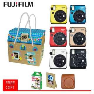 Fujifilm Instax Mini 70 Combo Package + Free Gift