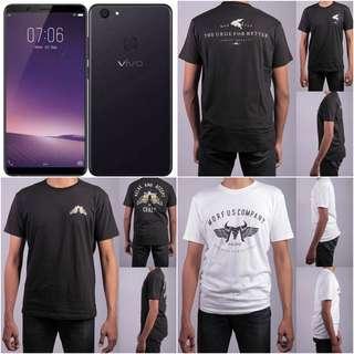 Vivo V7 free T-Shirt MORFUS