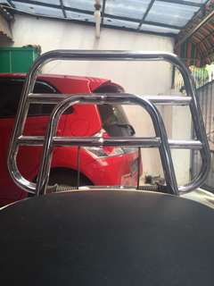 Rear rack carrier chrome vespa sprint/primavera