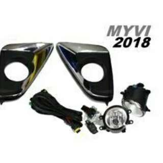 Myvi New 2018 2017 fog lamp