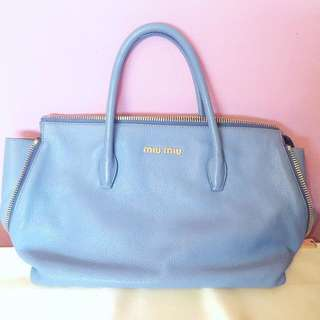c8b7891e2a2 miu miu bag blue
