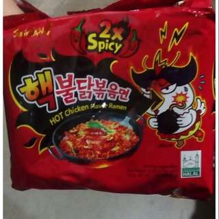 Samyang Spicy Noodles 2x Spicy