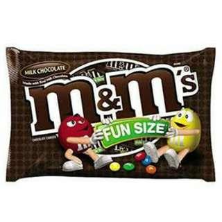 M&M's Fun Size
