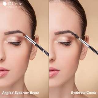 Beautiful 1pc Eyebrow Makeup Brush and Eyebrow Comb Kit
