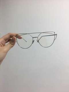 glasses no degree