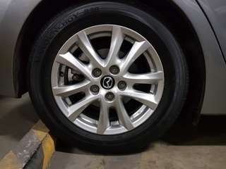 Mazda 3 Tires and Rims