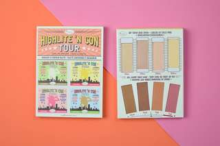 Instock authentic the balm highlite and contour palette