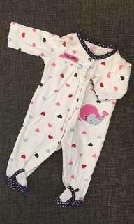 Newborn Carter's Sleepsuit
