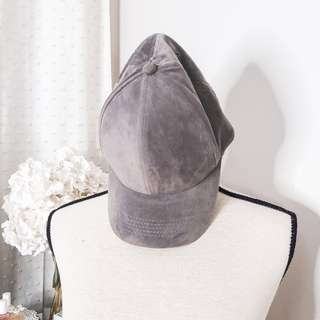Penshoppe gray suede hat inspired by kylie jenner