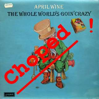 April wine Vinyl LP used, 12-inch, may or may not have fine scratches, but playable. NO REFUND. Collect Bedok or The ADELPHI.