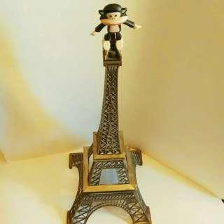 罕有合金屬巴黎鐵塔 (高:60 cm 闊:24.5cm) 裝置收葳品