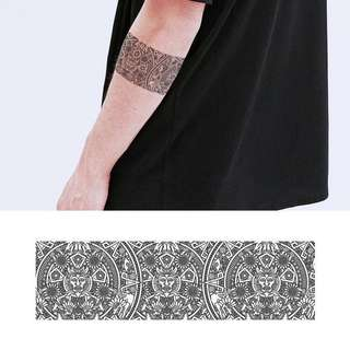 BN Instock Temporary Tattoo Temp Tattoos Armband Tribal Pattern Intricate