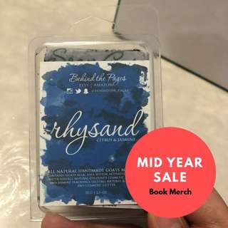 Mid Year Sale: Book Merch A Court of Thorns and Roses Series by Sarah J Maas Rhysand Soap From Etsy