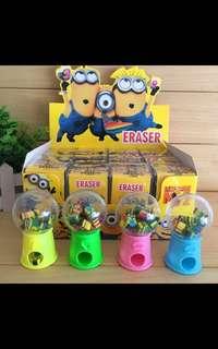 Minion erasers