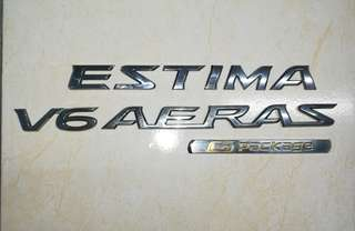 Emblem Estima G Edition