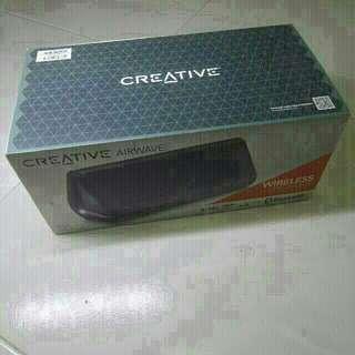 Creative Airwave Black NFC Bluetooth Speaker