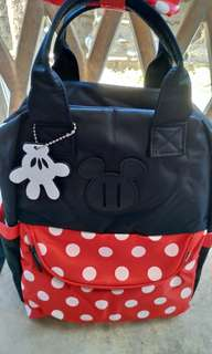 Mickey Mouse Baby Toddler Unisex Diaper Cute Bag Backpack