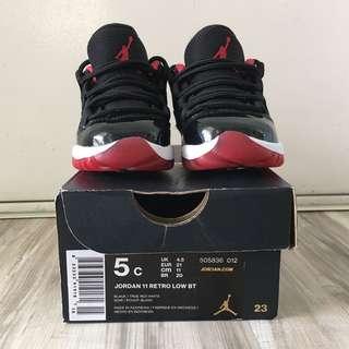 Jordan 11 Retro Low BT (size 5c)