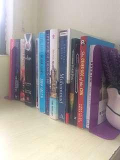 Books rm10 each