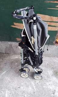 Aprica Misteries Black Stroller