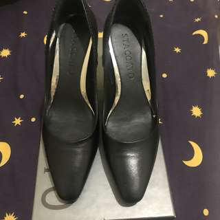 Staccato Black Pumps Shoes