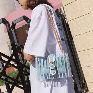 Korean Transparent Shoulder Bag Preorder