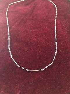 Genuine 925 silver chain with spirals
