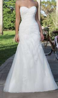 Justin Alexander wedding dress