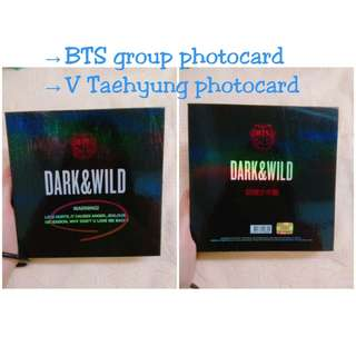 WTS BTS DARK & WILD 1st FULL LENGTH ALBUM