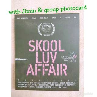 WTS BTS SKOOL LUV AFFAIR ALBUM