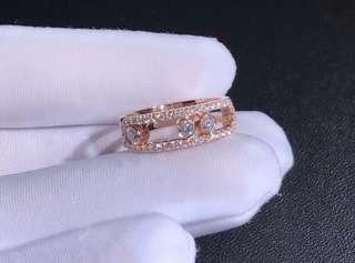 Messika 梅西卡 MOVE鑽石戒指