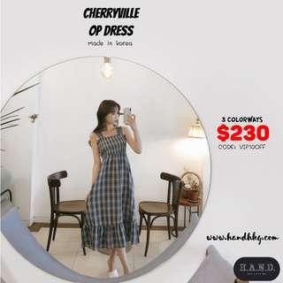 Cherryville- 韓國女裝連身裙 korea