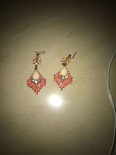 Anting Peach Forever 21