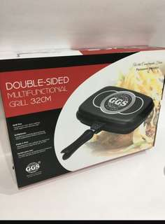 BN GGS Non-Stick Double Sided Multifunctional Grill Pan 32CM