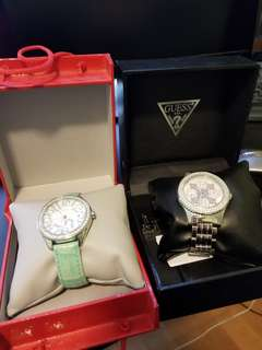 Brand new guess watches