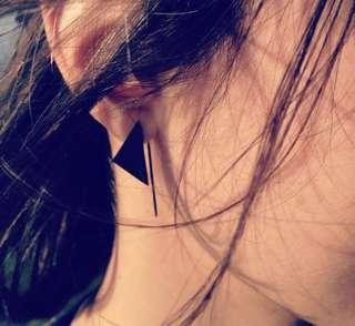 Triangle Geometric Earring