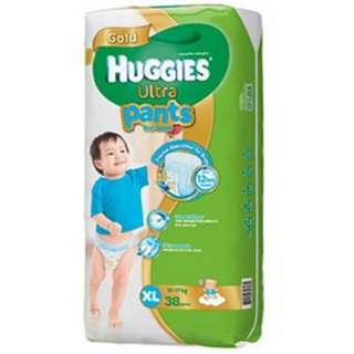 Huggies Ultra Pants for Boys XL 38 pcs