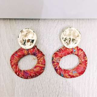Vintage Boho Hoop Earrings