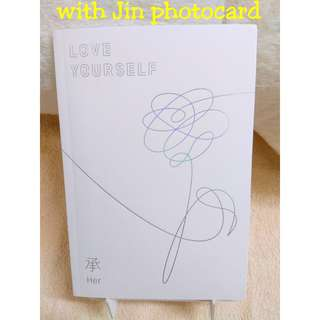 WTS - Price can nego: BTS LOVE YOURSELF 承 HER - O Version