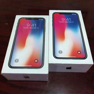 Iphone X Globe & Smart Available