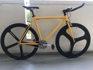 Fixie with Navigate Rims