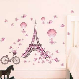 [PO662]Butterfly Flower Tower Hot Air Balloon