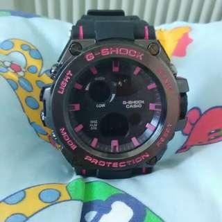 G-shock black&pink